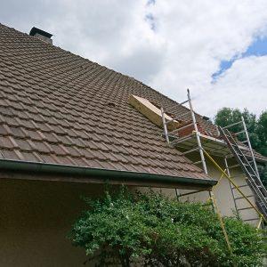 Isolation de la toiture par l'extérieur en Béarn 1