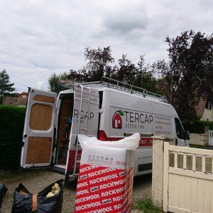 Isolation de la toiture par l'extérieur en Béarn 2