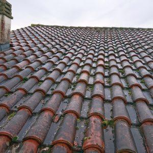 Nettoyage toiture en Béarn