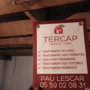 TERCAP réalise l'isolation thermique du plancher d'une maison à Tarbes dans les Hautes Pyrénées