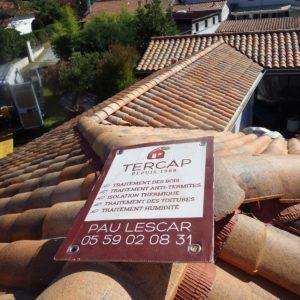 Tercap nettoyage de toiture à Anglet au Pays basque