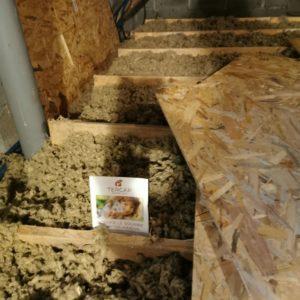 TERCAP réalise l'isolation thermique dans les combles d'une maison à Labastide Cezeracq dans le Béarn