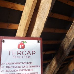 TERCAP traitement de charpente à Artiguelouve