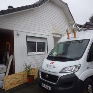 TERCAP réalise l'isolation thermique des combles par soufflage de laine de roche à Angaïs dans le Béarn