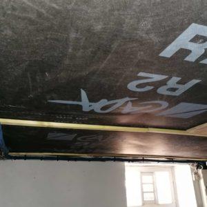 Tercap pose de l'isolation en panneaux rigides sous un plancher de maison à pau dans le Béarn
