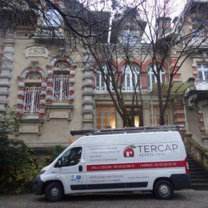 TERCAP réalise le traitement des vrillettes et capricornes dans une copropriété de Pau Béarn