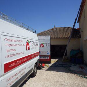 TERCAP réalise le nettoyage de toiture a Lons dans le Béarn